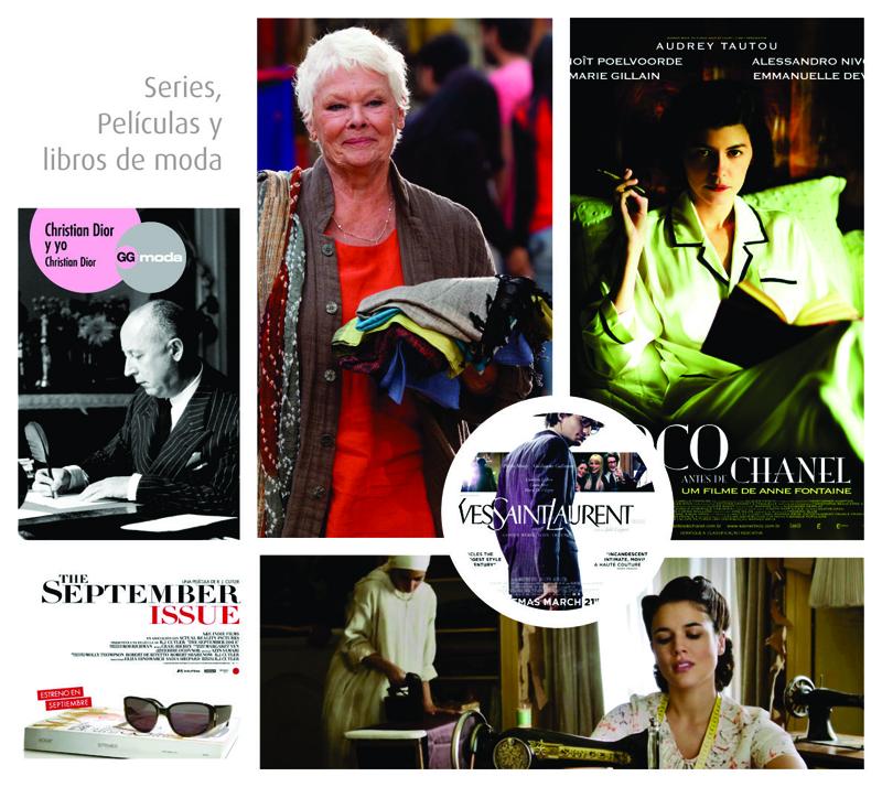 Películas, series y libros que enseñan sobre la trayectoria del mercado textil
