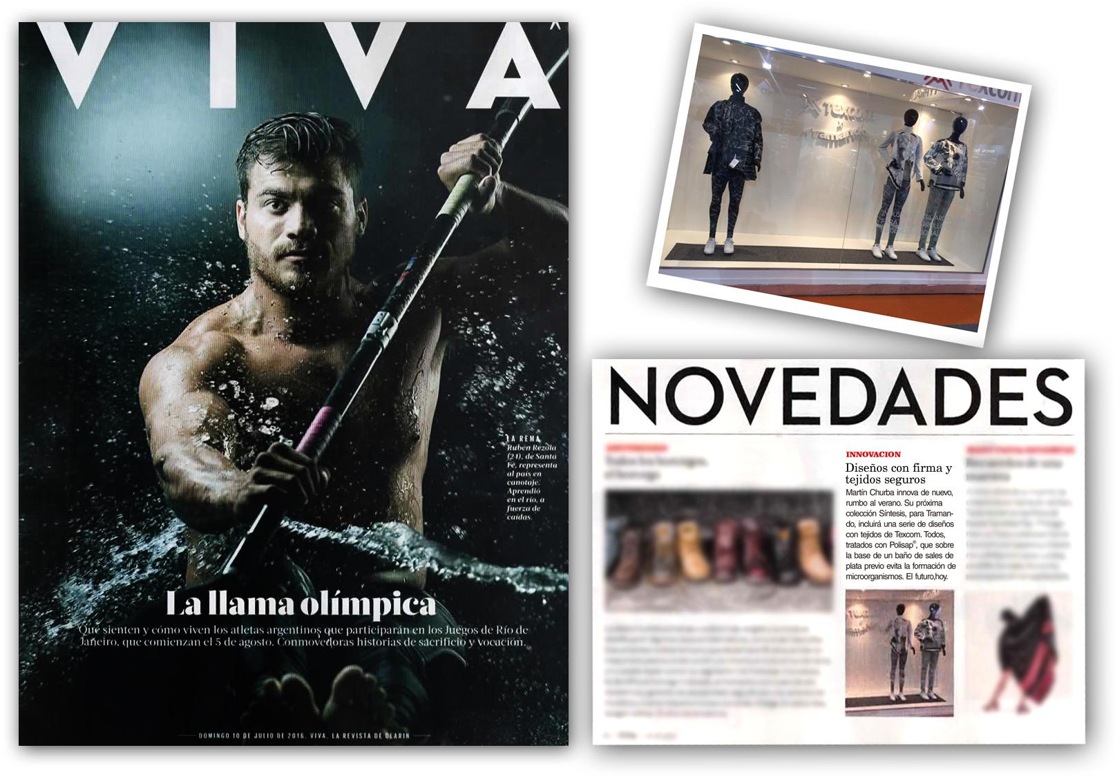 Texcom x Tramando | Revista VIVA Clarín